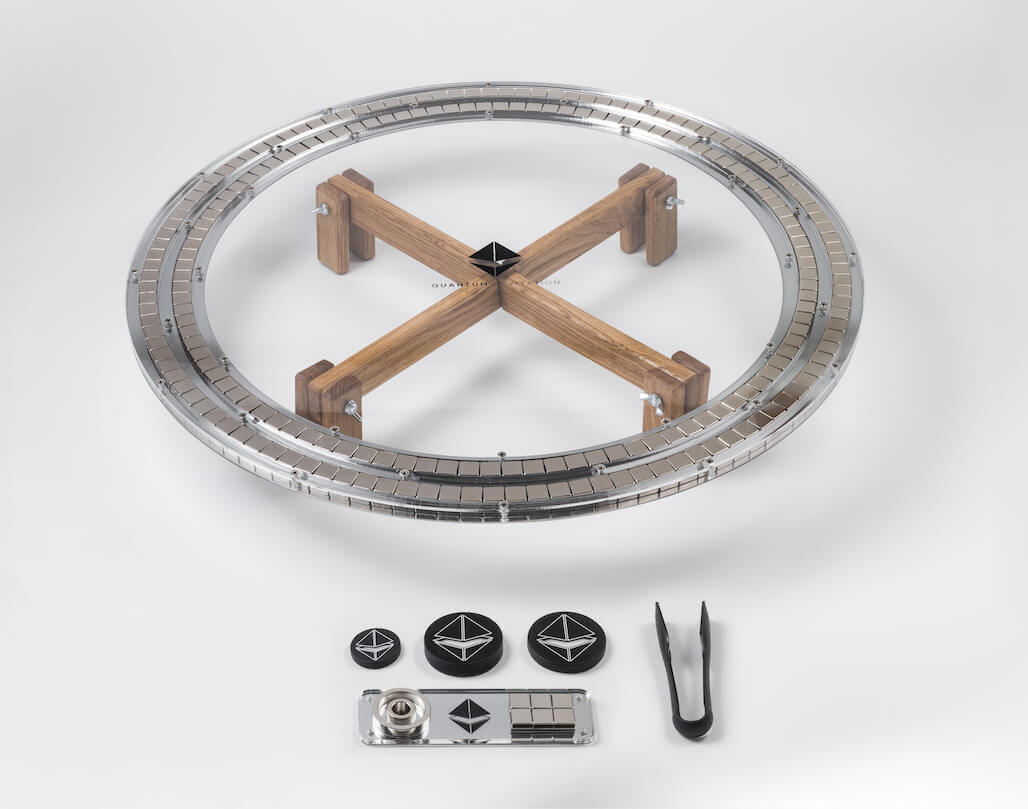 Quantum-Levitation-Maglev-Kit